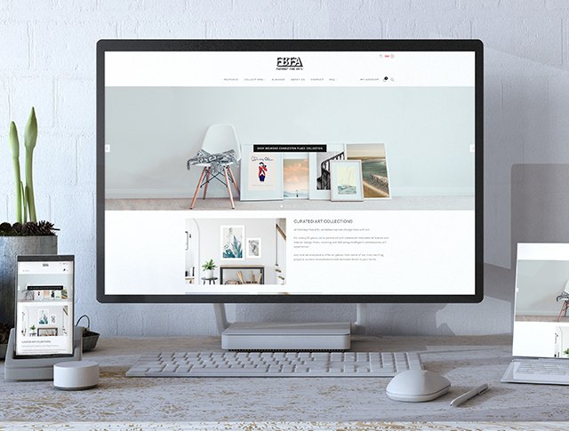 Farmboycurated eCommerce site FBFA